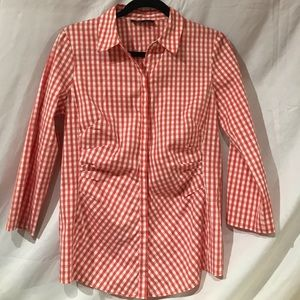 Lafayette 148 button up - size 8 - new condition